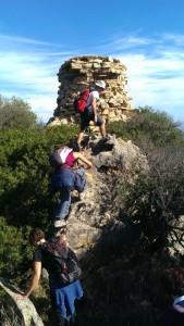 Trekking a Capo Cerasio