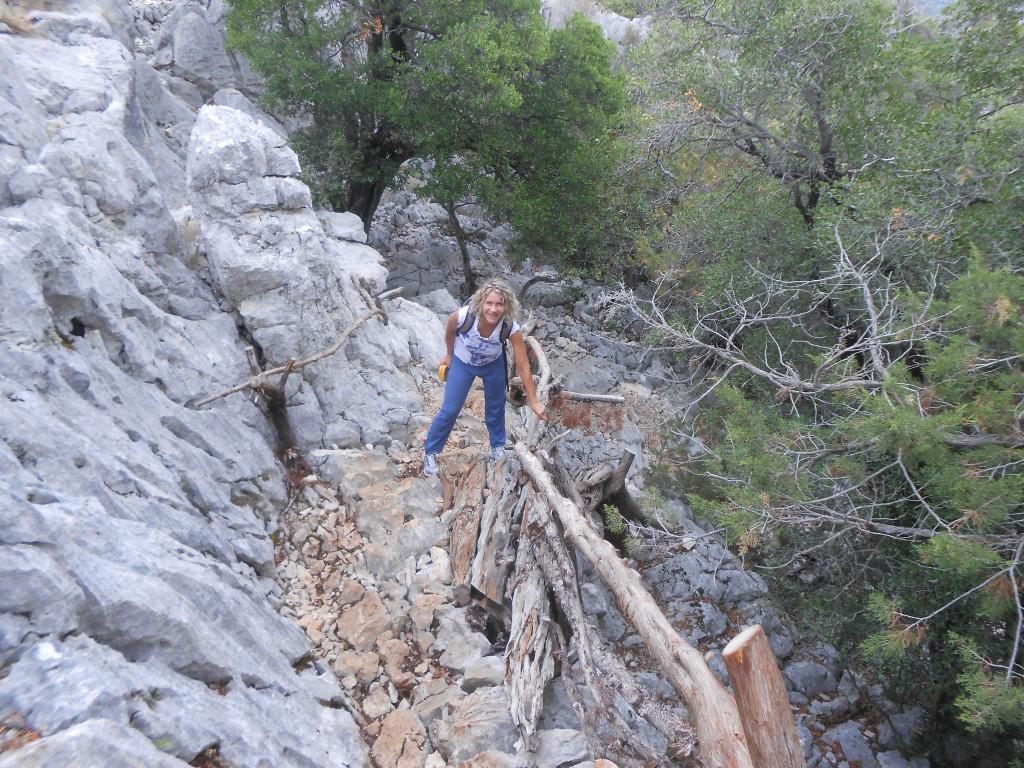 Trekking a Tiscali