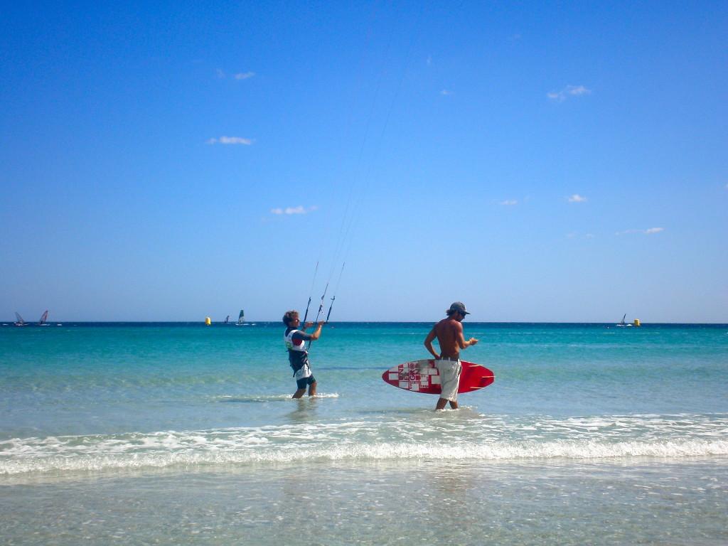 Kite surf alla Cinta