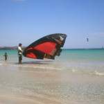 Kite surf   in San Teodoro
