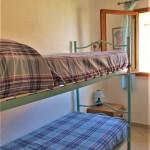 Camera da letto piccola con letto a castello